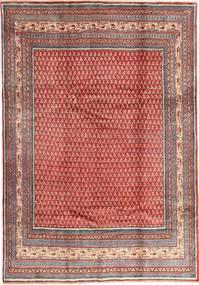 Sarough Mir Tapis 213X305 D'orient Fait Main Rouge Foncé/Rouille/Rouge (Laine, Perse/Iran)