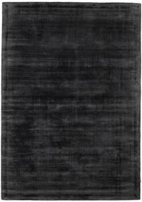 Tribeca - Charcoal Tapis 140X200 Moderne Noir/Gris Foncé ( Inde)
