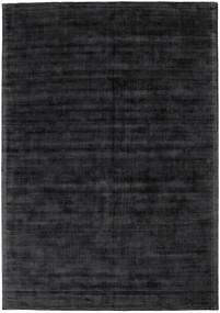 Tribeca - Charcoal Tapis 240X340 Moderne Noir/Gris Foncé ( Inde)