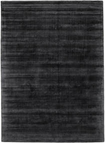 Tribeca - Charcoal Tapis 210X290 Moderne Noir/Gris Foncé ( Inde)