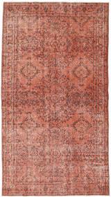 Colored Vintage Tapis 116X211 Moderne Fait Main Rouge Foncé/Rose Clair (Laine, Turquie)