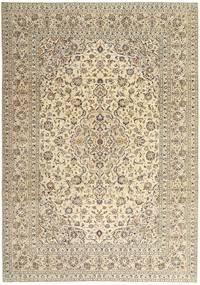 Kashan Patina Tapis 243X340 D'orient Fait Main Beige/Gris Clair (Laine, Perse/Iran)