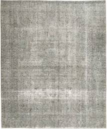 Colored Vintage Tapis 288X353 Moderne Fait Main Gris Clair Grand (Laine, Perse/Iran)