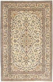 Kashan Patina Tapis 195X298 D'orient Fait Main Beige/Marron Clair (Laine, Perse/Iran)