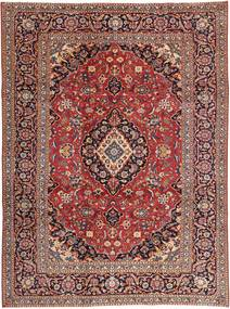 Kashan Patina Tapis 242X333 D'orient Fait Main Rouge Foncé/Marron Clair (Laine, Perse/Iran)