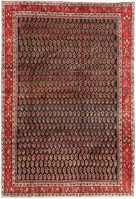 Arak Tapis 199X290 D'orient Fait Main Marron Foncé/Rouge Foncé (Laine, Perse/Iran)