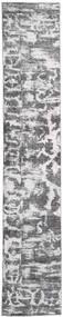 Colored Vintage - Persien/Iran Tapis 65X383 Moderne Fait Main Tapis Couloir Gris Clair/Beige (Laine, Perse/Iran)