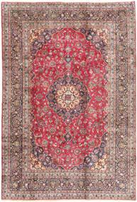 Kashmar Tapis 198X293 D'orient Fait Main Rouge Foncé/Beige (Laine, Perse/Iran)