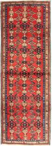 Zanjan Tapis 102X300 D'orient Fait Main Tapis Couloir Rouge Foncé/Marron Foncé (Laine, Perse/Iran)