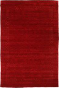 Loribaf Loom Beta - Rouge Tapis 190X290 Moderne Rouge Foncé/Rouille/Rouge (Laine, Inde)