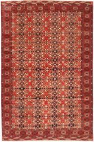 Turkaman Patina Tapis 210X316 D'orient Fait Main Rouge Foncé (Laine, Perse/Iran)