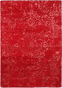 Orient Express - Rouge Tapis 160X230 Moderne Fait Main Rouge (Laine/Soie De Bambou, Inde)