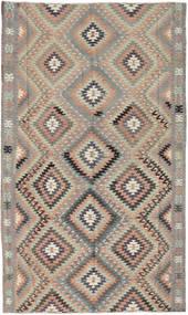Kilim Turquie Tapis 175X290 D'orient Tissé À La Main Gris Clair/Gris Foncé/Marron Clair (Laine, Turquie)