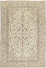 Kashan Patina Tapis 229X333 D'orient Fait Main Gris Clair/Beige Foncé (Laine, Perse/Iran)