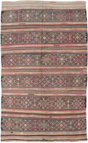 Kilim Turquie Tapis 173X290 D'orient Tissé À La Main Gris Clair/Gris Foncé (Laine, Turquie)
