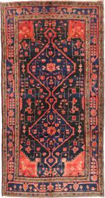 Koliai Tapis 160X304 D'orient Fait Main Tapis Couloir Rouge Foncé/Noir (Laine, Perse/Iran)