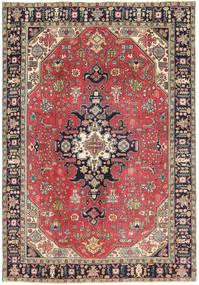 Tabriz Patina Tapis 193X280 D'orient Fait Main Rouge Foncé/Gris Foncé (Laine, Perse/Iran)