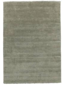 Handloom Fringes - Soft Teal Tapis 160X230 Moderne Vert Clair (Laine, Inde)