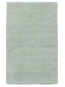 Handloom Fringes - Bleu Glace Tapis 140X200 Moderne Bleu Clair (Laine, Inde)