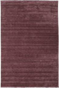 Handloom Fringes - Bordeaux Tapis 300X400 Moderne Violet Foncé/Marron Foncé Grand (Laine, Inde)
