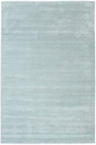 Handloom Fringes - Bleu Glace Tapis 200X300 Moderne Bleu Clair (Laine, Inde)