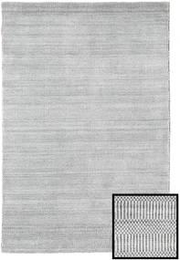 Bambou Grass - Gris Tapis 120X180 Moderne Gris Clair/Beige (Laine/Soie De Bambou, Turquie)