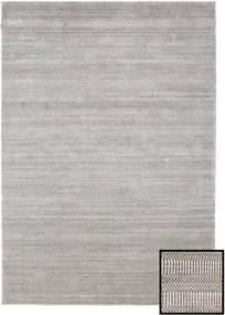 Bambou Grass - Beige Tapis 160X230 Moderne Gris Clair (Laine/Soie De Bambou, Turquie)