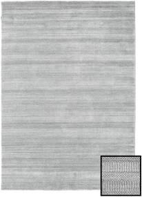 Bambou Grass - Gris Tapis 160X230 Moderne Gris Clair (Laine/Soie De Bambou, Turquie)