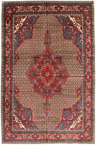 Koliai Tapis 205X300 D'orient Fait Main Rouge Foncé/Marron Foncé (Laine, Perse/Iran)