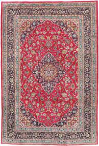 Kashmar Tapis 197X300 D'orient Fait Main Gris Clair/Marron Foncé (Laine, Perse/Iran)