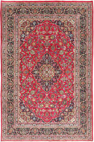 Kashmar Tapis 197X300 D'orient Fait Main Rouille/Rouge/Gris Clair (Laine, Perse/Iran)