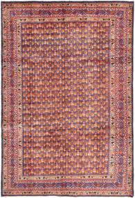 Arak Tapis 204X308 D'orient Fait Main Gris Foncé/Marron (Laine, Perse/Iran)