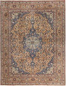 Kashan Patina Tapis 292X385 D'orient Fait Main Marron Foncé/Rouge Foncé Grand (Laine, Perse/Iran)