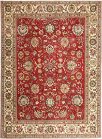 Tabriz Patina Tapis 290X390 D'orient Fait Main Marron/Rouille/Rouge Grand (Laine, Perse/Iran)