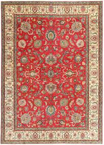 Tabriz Patina Tapis 267X370 D'orient Fait Main Rouille/Rouge/Gris Foncé Grand (Laine, Perse/Iran)