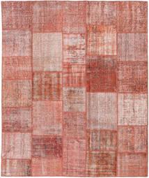 Patchwork Tapis 251X300 Moderne Fait Main Rouge Foncé/Rose Clair Grand (Laine, Turquie)
