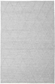 Svea - Argent Tapis 200X300 Moderne Tissé À La Main Gris Clair/Blanc/Crème (Laine, Inde)