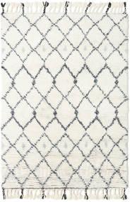Sauda - Natural Gris Tapis 120X180 Moderne Fait Main Beige/Blanc/Crème (Laine, Inde)