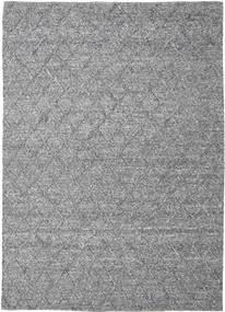 Rut - Gris Foncé Melange Tapis 250X350 Moderne Tissé À La Main Gris Clair/Marron Foncé Grand (Laine, Inde)