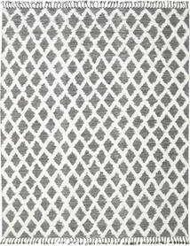 Inez - Marron Foncé/Blanc Tapis 200X300 Moderne Tissé À La Main Gris Clair/Gris Foncé (Laine, Inde)