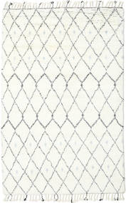 Sauda - Natural Gris Tapis 200X300 Moderne Fait Main Beige/Blanc/Crème (Laine, Inde)