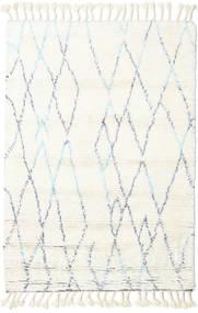 Rana - Natural/Bleu Tapis 160X230 Moderne Fait Main Beige/Blanc/Crème (Laine, Inde)