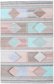 Pet Yarn Kilim Tapis 160X230 Moderne Tissé À La Main ( Inde)
