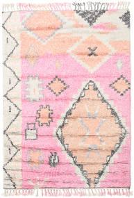 Odda - Rose Tapis 160X230 Moderne Fait Main Rose Clair/Blanc/Crème (Laine, Inde)
