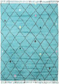 Alta - Turquoise Tapis 200X300 Moderne Fait Main Bleu Clair/Bleu Turquoise (Laine, Inde)