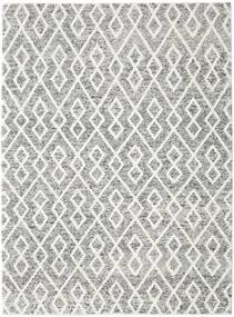 Hudson - Melange Noir Tapis 250X350 Moderne Gris Clair/Gris Foncé Grand (Laine, Inde)