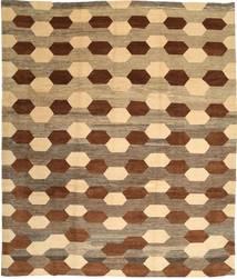 Loribaft Persan Tapis 310X365 Moderne Fait Main Marron Clair/Marron/Beige Foncé Grand (Laine, Perse/Iran)