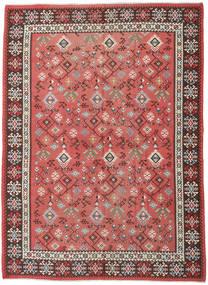Kilim Russes Tapis 230X312 D'orient Tissé À La Main Rouille/Rouge/Rouge Foncé (Laine, Azerbaïdjan/Russie)