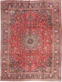 Mashad Tapis 285X375 D'orient Fait Main Rouge Foncé/Rose Clair Grand (Laine, Perse/Iran)
