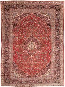 Mashad Tapis 285X390 D'orient Fait Main Rouge Foncé/Marron Foncé Grand (Laine, Perse/Iran)